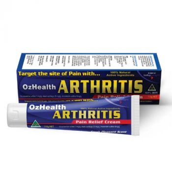 Ozhealth Arthritis Effective Pain Relief Cream